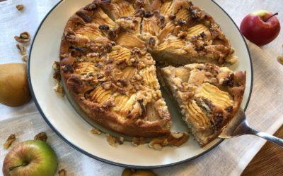 Traumhafter Apfel-Birnen-Kuchen