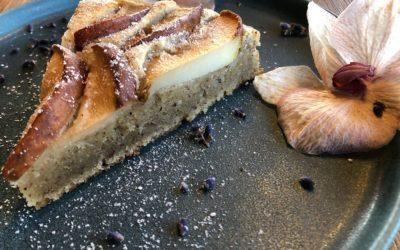 Saftiger Birnen-Nuss-Kuchen